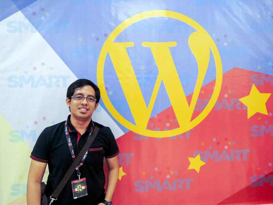 Zen Dezines at WordCamp Manila