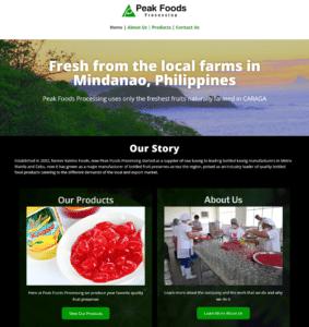 Peak Foods Processing